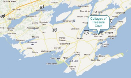 Directions | Cottages Of Treasure Cove